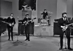 """The Beatles """"Ed Sullivan Show"""" Final Appearance (14th August 1965) Please click on the image to play the video."""