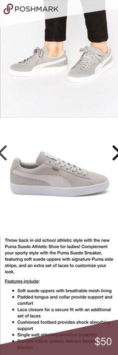 137033596b NWOB Puma Suede Classics Gray Sneaker NWOB Puma Suede Classics Gray  Sneaker. Puma Shoes Sneakers