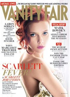 The December 2011 Issue | The Magazine | Vanity Fair :: scarlett fever