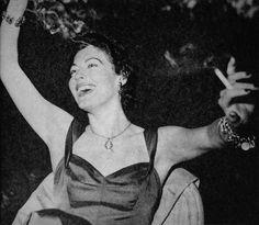 "gatabella: ""Ava Gardner, 1954"""