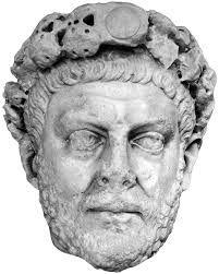 Ritratto di Diolcezian,284-305 d.C.,marmo,da Nicomedia, Museo Archeologico, Istanbul.