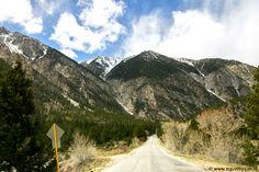 Road to St. Elmo Colorado