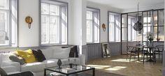living room visual : brahegatan 7 property development : esny