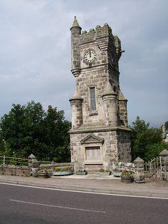 Brora War Memorial Brora War Memorial with names of fallen from the First World War, Second World War and Gulf War.