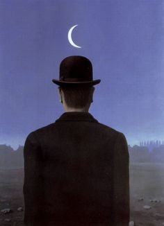 The schoolmaster, by Magritte 1954