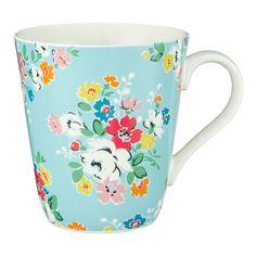 Clifton Rose Stanley Mug (Blue) | CathKidston