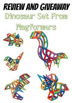 Enter to win a Magformers Dinasour Set