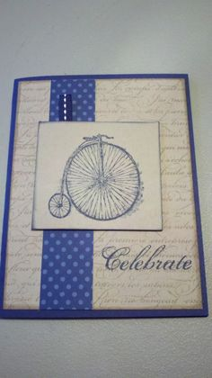 Stampin' It Up with Olivia: Sale-a-bration Creation! http://stampinitupwitholivia.blogspot.com/2013/01/sale-bration-creation.html#
