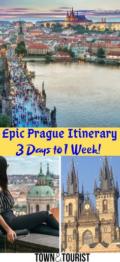 Epic Prague Itinerary, 3 days to 1 week travel guide! Things to do in Prague, Activities,  Old town guide. weekend City trip, Summer/Winter in Prague! Prague attractions, Great Architecture of Prague, Day trips from Prague, Charles bridge, Astronomical Clock, John Lennon Wall, Prague Jewish Quarter, Romantic couples places in Prague #Prague #CzechRepublic #travel #guide #Itinerary  via @townandtourist