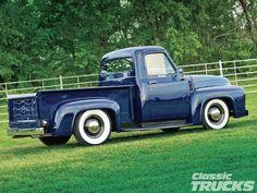 1211clt 03 O +1955 Ford F100+passenger Side