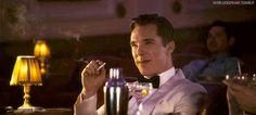'Benedict Cumberbatch as Humphrey Bogart in an Electric Cinema trailer' - amazing find by @DES_perate
