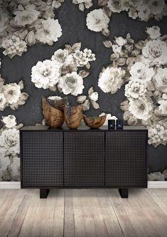 Floral Room, Graham Brown, Buffet, Creative, Wall, Inspiration, Furniture, Home Decor, Biblical Inspiration
