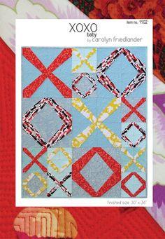 Shop | Category: Carolyn Friedlander | Product: Carolyn Friedlander - XOXO Baby Quilt
