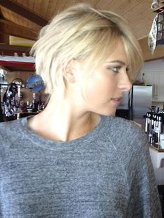 Sharapova's new haircut