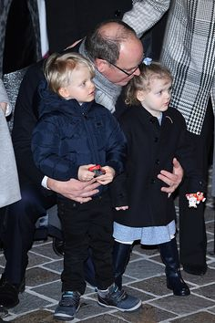 Royal Family Around the World: Monégasque Princely Family Attends the Ceremony Of The Sainte-Devote In Monaco on January 26, 2018