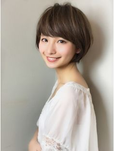 【銀座 XELHA】大人可愛い小顔ショート