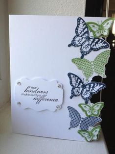 Papillon Potpourri Kindness by Heather Beck - Cards and Paper Crafts at Splitcoaststampers