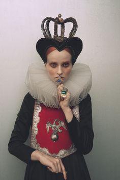 Signe Vilstrup for Tomorrows Journal #elizabethan beauty