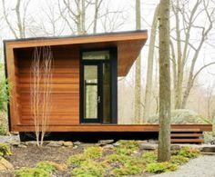 "A modern interpretation of the rural cabin, Matt Berman's ""Studio Retreat"""
