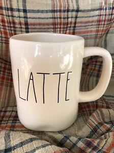 Rae Dunn LATTE Mug  | eBay