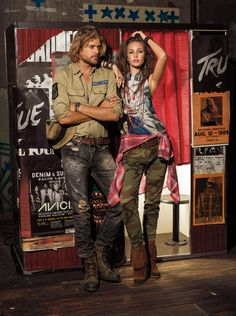 Denim & Supply Ralph Lauren Channel a bohemian spirit with rustic patterned denim pieces that are as bright as a desert sunset Shop Now