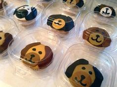 Cakes By Meg uses are single cupcake containers. Her treats look yummy!