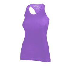 WOMAN'S TANK SOLID:This tank top has a relaxed, athletic fit for sleek movement, hard work-outs and the athlete that never quits. Arctic Cool's HydroFreeze X powered V-neck keeps you cool when training heats up. It comes in 12 different colors.