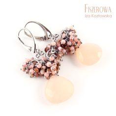 Coral shades / Fiszerowa / Biżuteria / Kolczyki