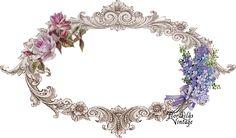 Flor Lilás Vintage: Cabeçalho para Blog - Grátis - Rosas Delicadas
