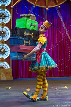 Barnum and Bailey Circus Clowns | Ringling Bros. and Barnum & Bailey Clown. Photo © Feld Entertainment