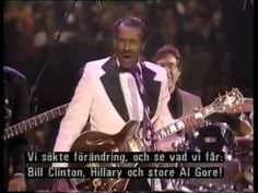 Chuck Berry & Little Richard Bill Clinton's Inauguration Ball' HBO, USA, 19th January 1993