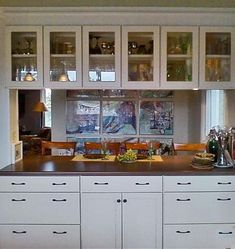 u shaped kitchen design with pass through on two sides - Google Search