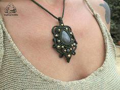 Check out this item in my Etsy shop https://www.etsy.com/listing/295050745/labradorite-pendant-macrame-pendant-boho