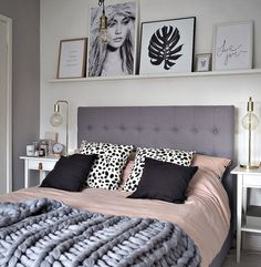 Awesome 60 Simple and Elegance Scandinavian Bedroom Designs Trends https://decorapatio.com/2017/06/12/60-simple-elegance-scandinavian-bedroom-designs-trends/