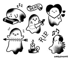 kateordie: Some l'il ghosties