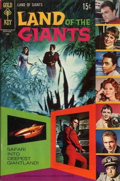 Land of the Giants #4  Gold Key Comics  Written by Dick Wood with art by Tom Gill Love the mood the cover evokes!