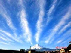 富士山 2012/02/20 富士吉田市内から