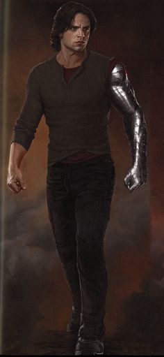 bucky barnes concept art captain america civil war