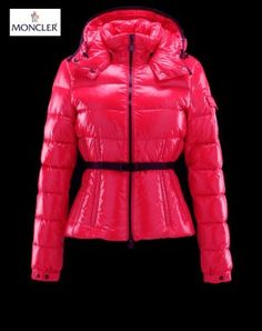 54f2f21b57bb Doudoune Moncler Pas Cher Femme Bea Rouge Winter Coat, Jackets For Women,  Coats For
