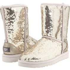 Don't have any Uggs but if i got some i'd start with these-Sparkly Uggs!