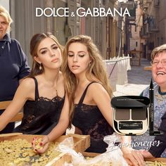 Pasta, Amore e... Emotioneyes! Discover the new Emotioneyes Make Up Collection and campaign with Sistine Stallone and Sophia Stallone and experience the possibilities to show emotions through these endless looks. #DGEmotionEyes #DGBeauty Photo by Morelli Brothers
