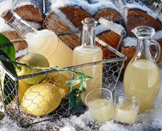 Rezept: Zitronenlikör