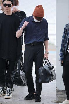 [AIRPORT] 160902: BTS Jeon Jungkook ft. Rap Monster (Kim Namjoon) #bts #bangtan…