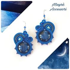 Soutache earrings by Mayrè Accessori