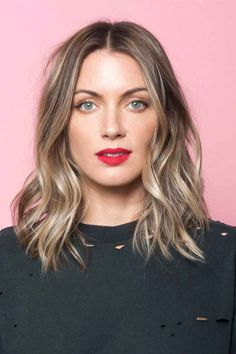 This is the perfect way to weave blonde tones into brown hair—basically, it's…