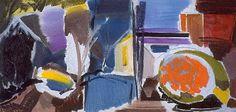 Orange bush by Ivon Hitchens, 1955 Auckland Art Gallery, Sketchbook Inspiration, Landscape Art, Still Life, Art Projects, Arts And Crafts, Doodles, Orange, Cityscapes
