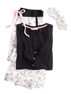 nice The Dreamer Henley Pyjama - Victoria& Secret - Champagnergläser . oh ja bitte! Best Pajamas, Cute Pajamas, Flannel Pajamas, Girls Pajamas, Pyjamas, Lingerie Sleepwear, Nightwear, Gigi Hadid Outfits, Night Suit