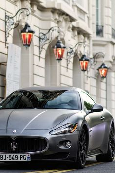 Constructed with the utmost attention to detail, every Maserati is a true masterpiece of Italian design. Here are 51 stunning Maserati cars! Dream Cars, My Dream Car, Maserati Car, Ferrari, Maserati Ghibli, Sexy Cars, Hot Cars, Aston Martin, Auto Girls