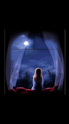 Such a peaceful asthetic. Night Sky Wallpaper, Scenery Wallpaper, Galaxy Wallpaper, Cartoon Wallpaper, Disney Wallpaper, Sky Aesthetic, Girly Pictures, Anime Scenery, Moon Art