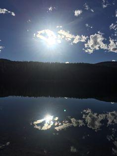 Fishing at Rainy Lake, MT